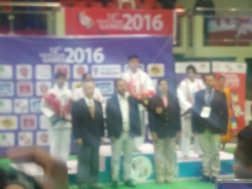 Medal Ceremony of South Asia Games 2016, Shillong