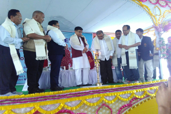 Inaguration of 6th JFI Training Center at Imphal, Manipur