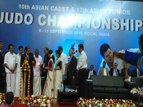10th Asian Cadet & 17th Asian Junior Judo Championships 2016 - India